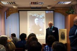 Выступление ведущего архивиста ГАСПИ КО В.С. Жаравина