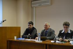 Выступление начальника отдела информационно-поисковых систем И.А. Басманова