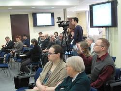 Участники пленарного заседания Петряевских чтений