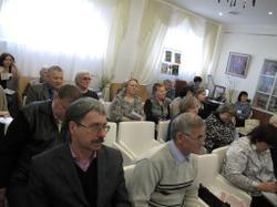 Участники секционного заседания Петряевских чтений